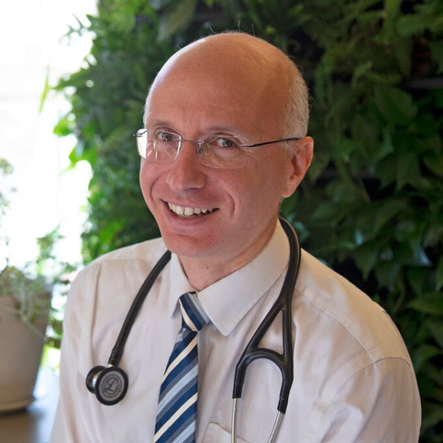 Aaron Bernstein, a pediatrician at Boston Children's Hospital