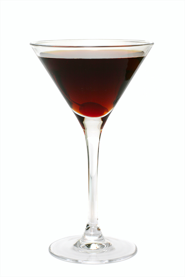 Black Manhattan  Science Of Drink