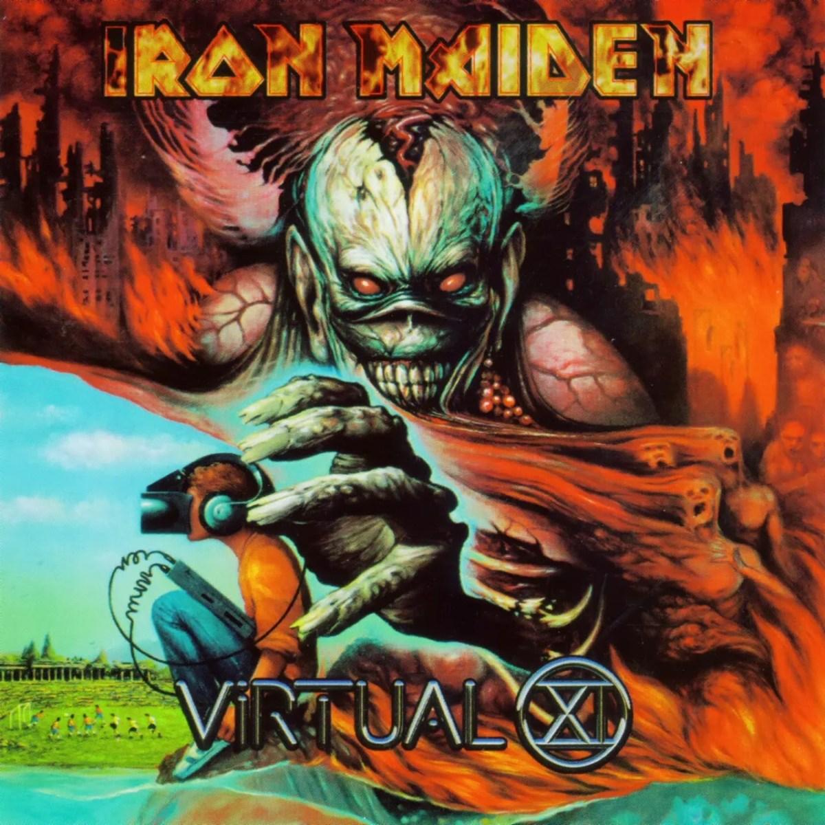 Iron Maiden - Virtual XI: ¿20 años del peor disco de la doncella?