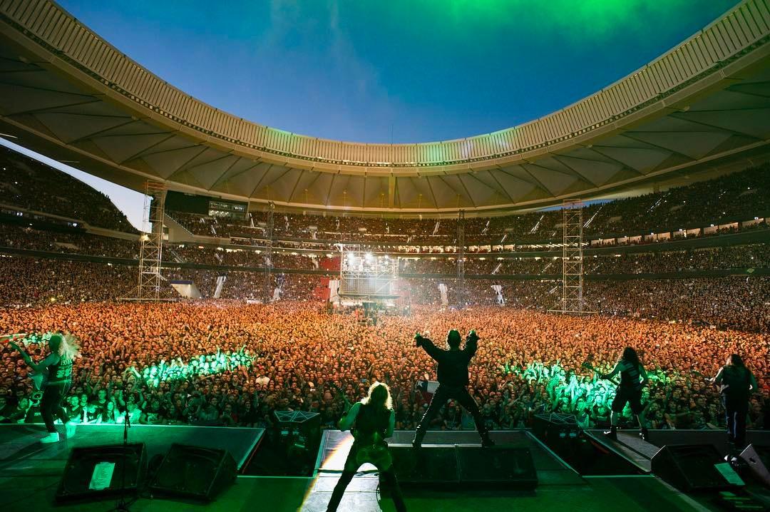 Iron Maiden dan un puñetazo en la mesa y toman Madrid con un concierto inmenso