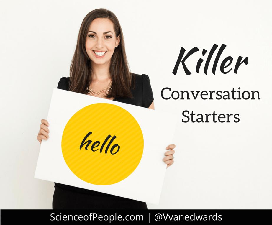 57 killer conversation starters