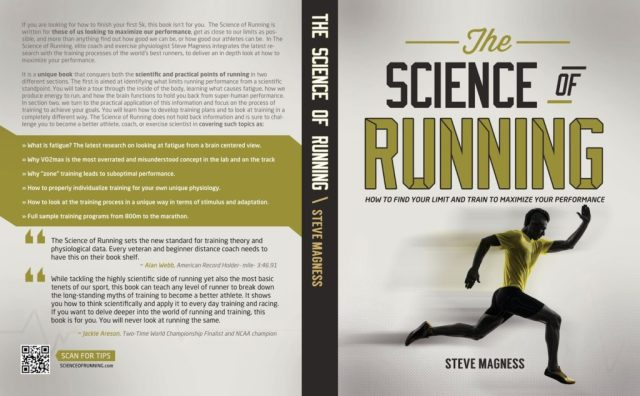 The Science of Running Book NOW AVAILABLE! 48hr special giveaway! – Science of Running 2