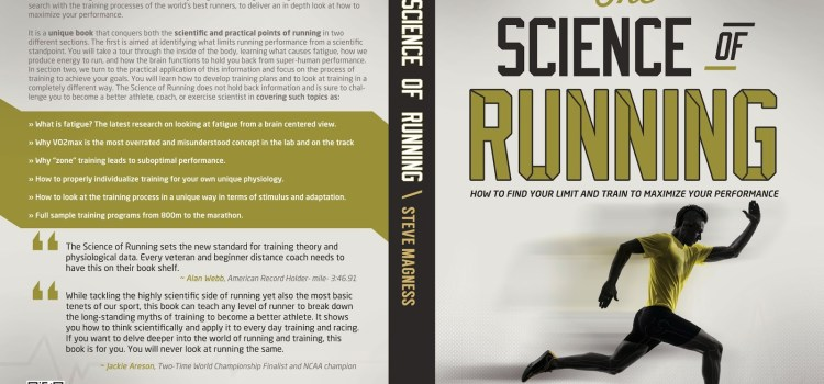 The Science of Running Book NOW AVAILABLE! 48hr special giveaway!