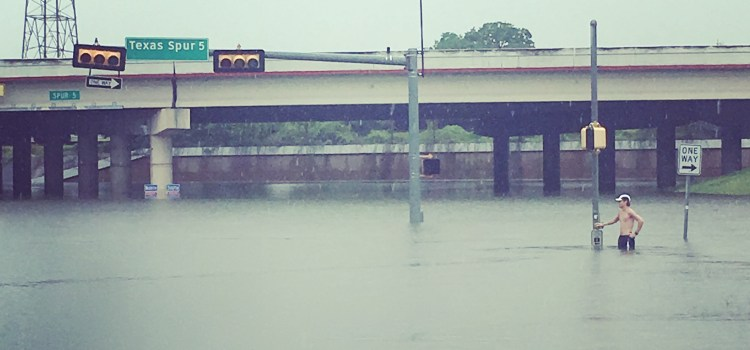Flooding and Tragedy: A Lesson in Hope.