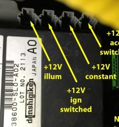 honda fuse block connector terminal 1 each s2000 2000 09 rh scienceofspeed com s2000 fuse diagram honda fuse box [ 1024 x 768 Pixel ]