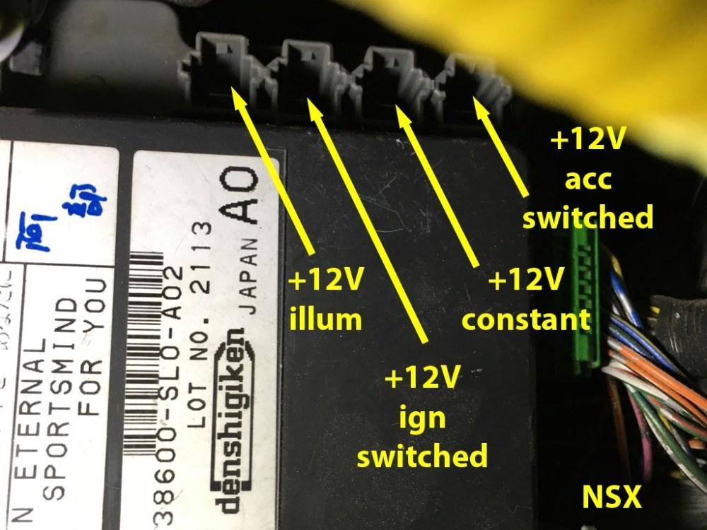 medium resolution of honda fuse block connector terminal 1 each s2000 2000 09 rh scienceofspeed com s2000 fuse diagram honda fuse box