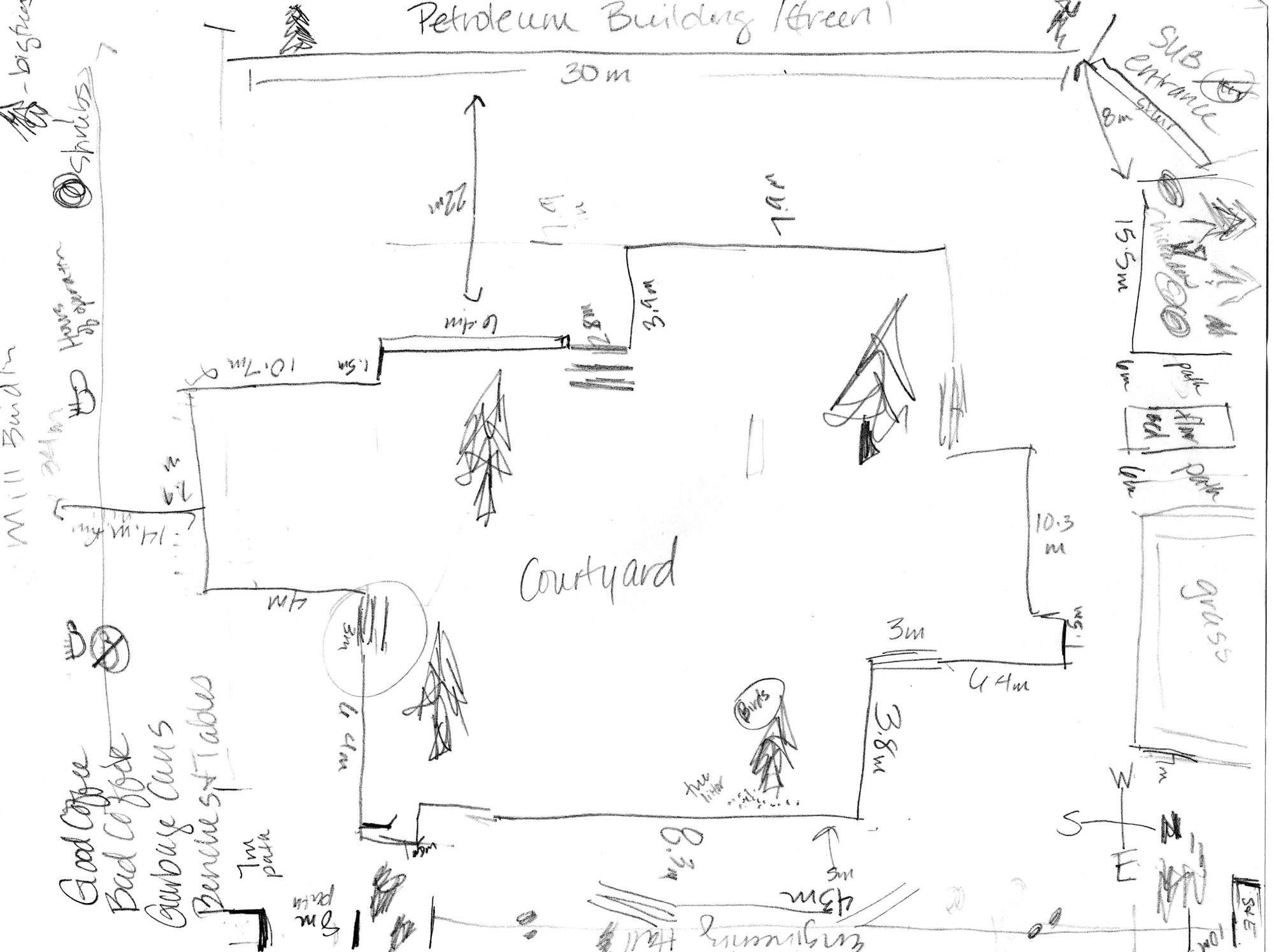 Sample Field Map Sketches Montana Science Partnership