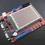 "New STM32F103ZET6 development board with 3.2"" TFT Touch LCD"