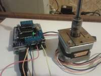 driwing stepper motor with arduino motor shield