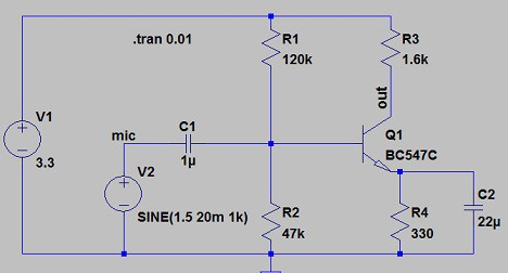 Px Electret Condenser Microphone Schematic Svg further Maxresdefault moreover Electret Bcondenser Bpre B lifier B Bcircuit moreover Npn Ltspice Mic moreover Electret Condenser Microphone Capsules. on electret condenser microphone circuit