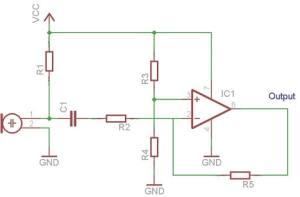 simple-mic-pre-amp-opamp
