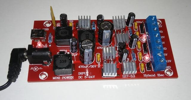 multiple power supply module connected