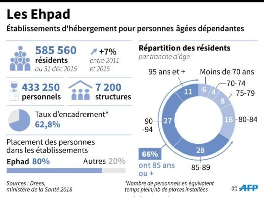 Les Ehpad (AFP/Archives - Sophie RAMIS)