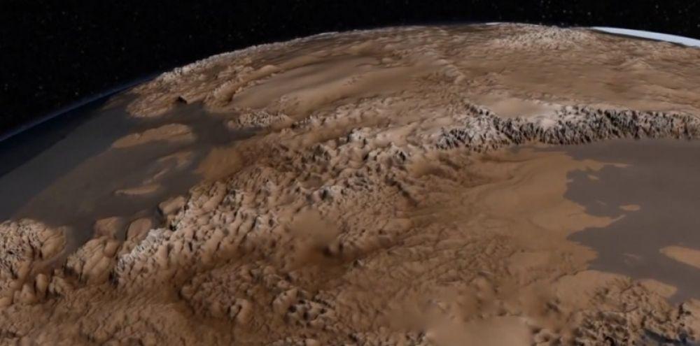 video Le Ple Sud sans sa glace  Sciences et Avenir