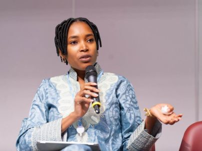 A l'occasion du Next Einstein Forum, Aminata Garba explique sa vision des télécoms en Afrique.