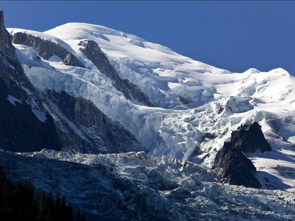 le massif du mont blanc s ecroule