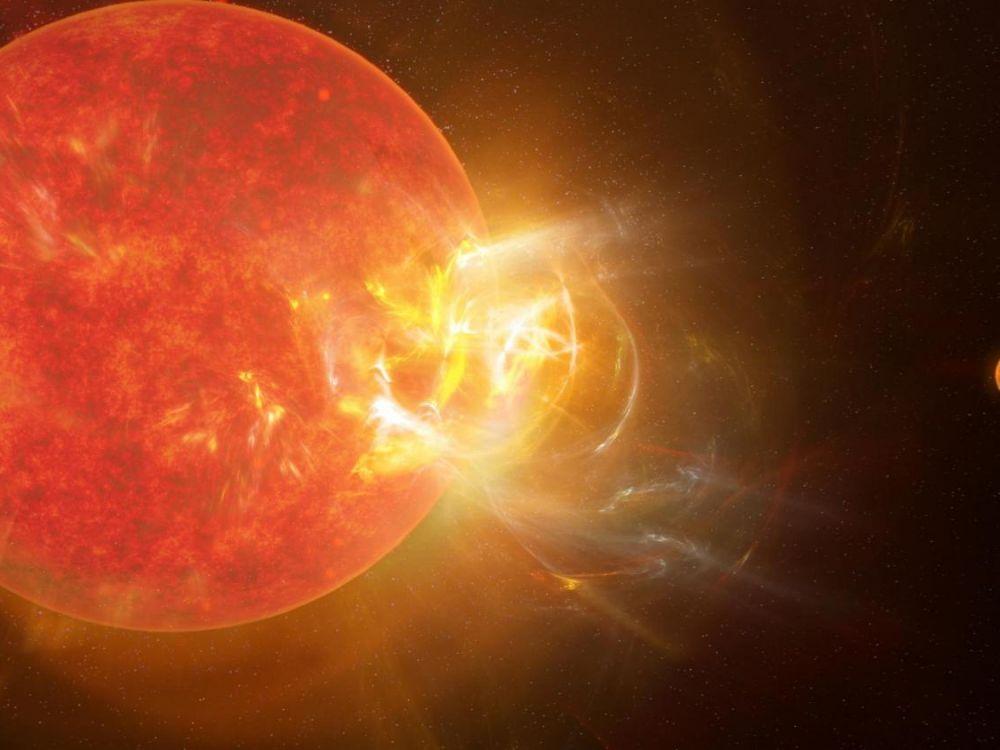 Proxima du Centaure a connu une éruption solaire