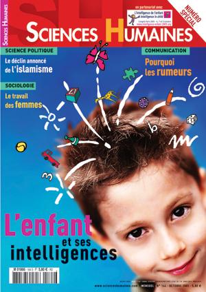 Consultez le sommaire du magazine L'enfant et ses intelligences