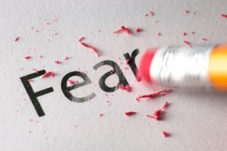 fear- how to overcome fear - sciencetreat