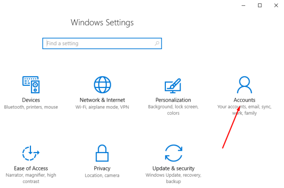 how to change windows 10 account password with admin