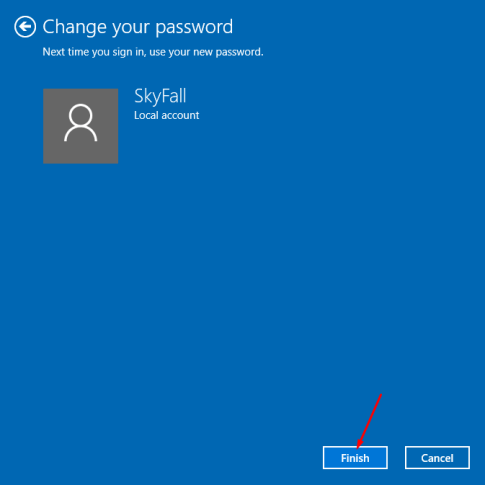 windows 10 password. sciencetreat.com