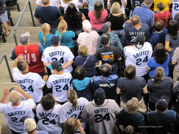 Seattle loves Ken Griffey Jr.