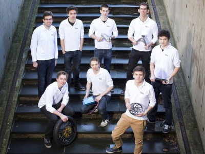 Het team TU/Ecomotive. Foto: via Tuecomotive.nl.