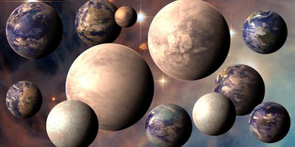 aardachtige planeet