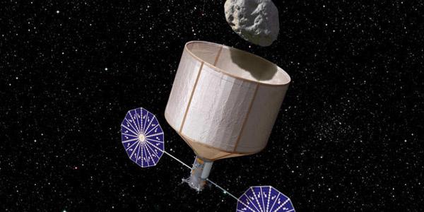 planetoïde vangen