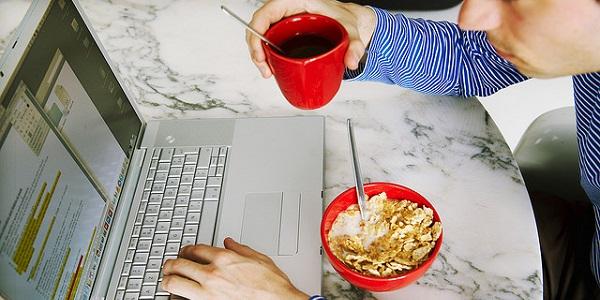 ontbijt werk