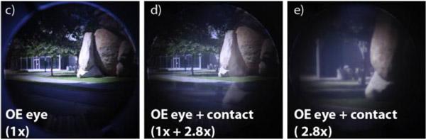 Hierboven is te zien hoe een gebruiker het ingezoomde beeld ziet.