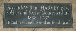 Het graf van Frederick William Harvey. Credit: FW Harvey Society
