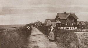 Rechtsvoor ziet u de villa 'Norsk Hjem' van de Duitser Joseph Alexander van Woringen. Bron: geschiedeniszeeland.nl
