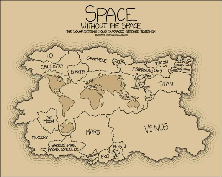 ruimtekaart