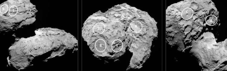 ESA / Rosetta / MPS voor het OSIRIS  Team MPS / UPD / LAM / IAA / SSO / INTA / UPM / DASP / IDA.