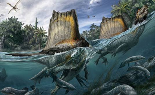 Een artistieke impressie van de dinosaurus. Afbeelding: National Geographic (via The University of Chicago).