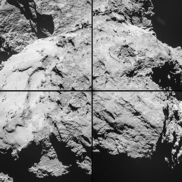 Afbeelding: ESA / Rosetta / NavCam.