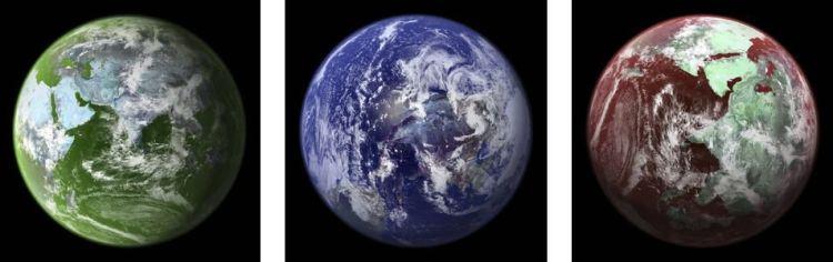 Als microben een bepaalde exoplaneet domineren, kan het licht dat door de exoplaneet gereflecteerd wordt, dat verraden. Afbeelding: NASA.
