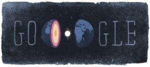De Google Doodle van 13 mei 2015