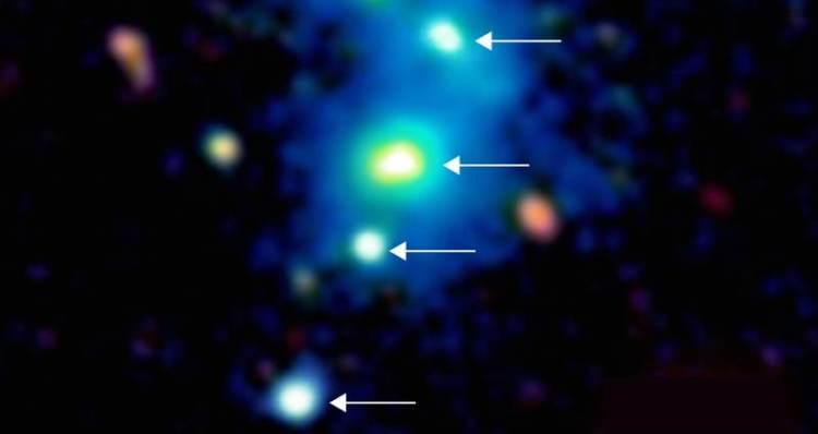 vier quasars