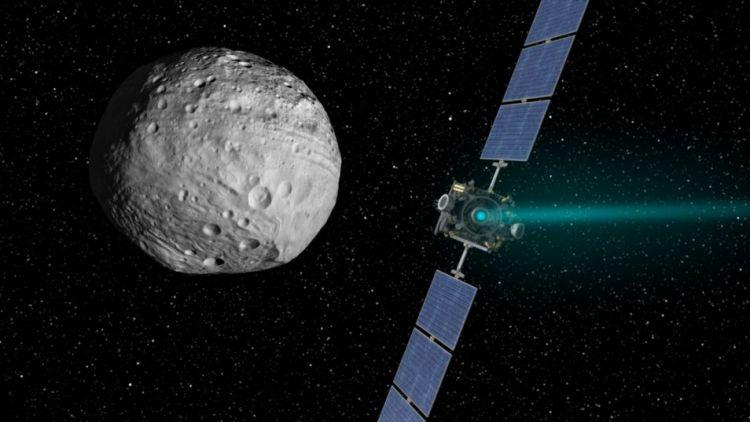 Dawn-ruimtesonde in actie!