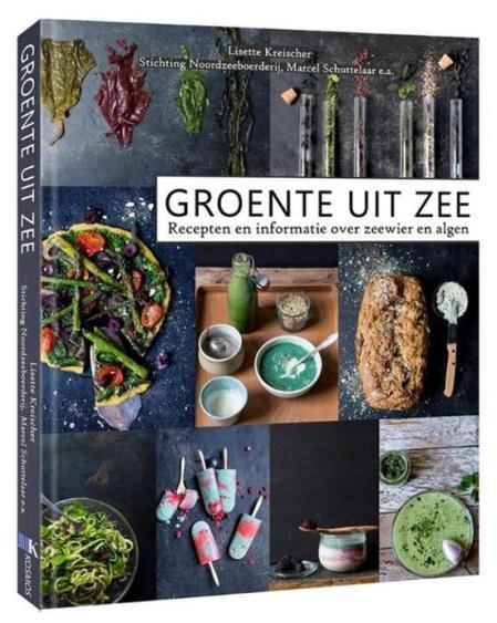Het boek 'Groente uit zee'.