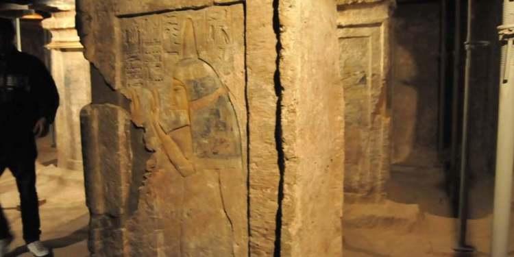 Een kijkje in de tombe van de min van Toetanchamon. Afbeelding: Egyptische Ministerie van Oudheden.