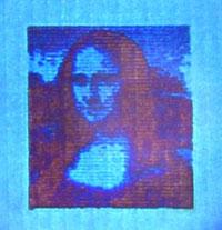 Reproductie van de Mona Lisa.