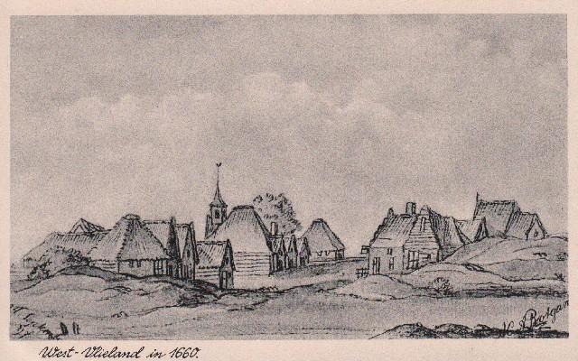 West-Vlieland in 1660.