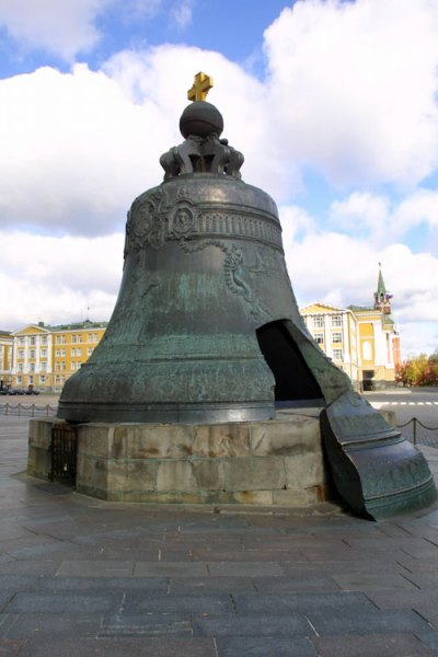De tsarenklok. Afbeelding: Kremlin.