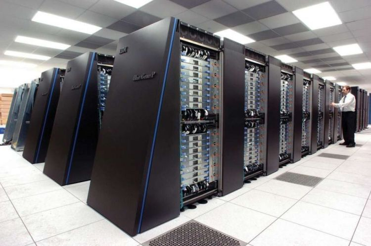 Een supercomputer. Afbeelding: Argonne National Laboratory.
