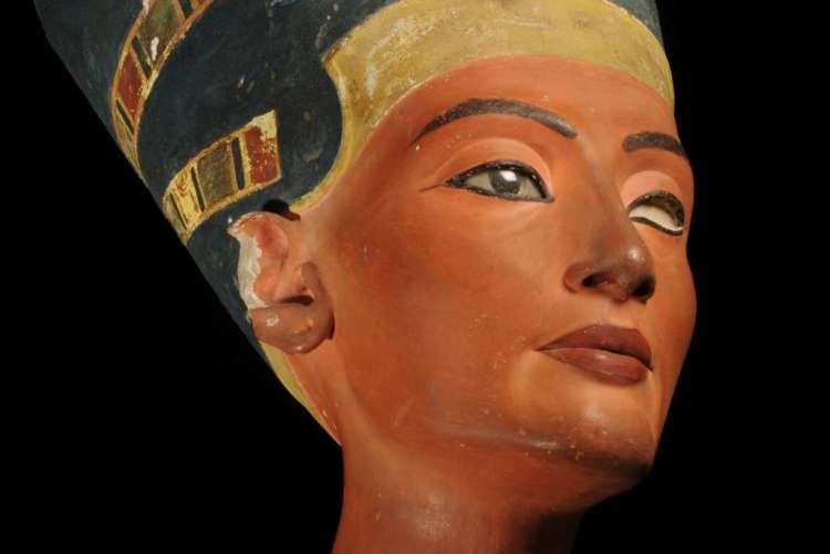 Nefertiti. Afbeelding: Rijksmuseum van Oudheden.