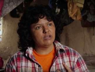 Berta Cáceres. Recent ontving zij postuum de VN-onderscheiding 'Champions of the Earth Award' voor haar inspirerende optreden.