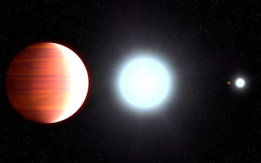 Op deze exoplaneet komt belangrijk ingrediënt van zonnebrandcrème uit de lucht zetten